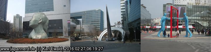 Seoul, Digital Media City: Kunstobjekte