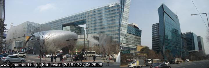 Seoul, Digital Media City: Architektur