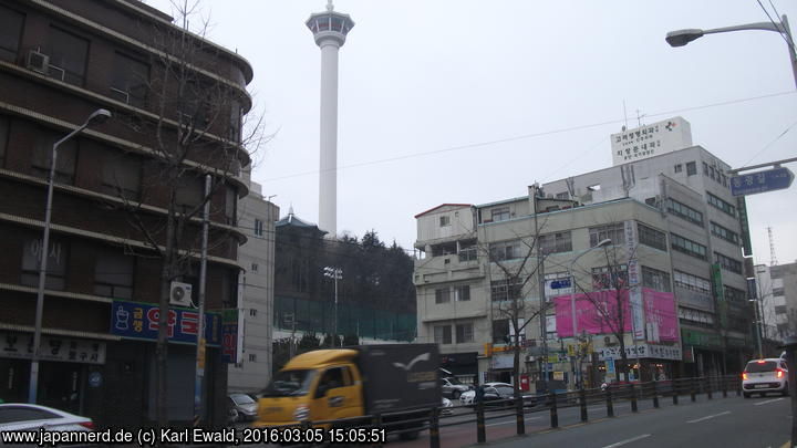 Korea, Busan: Busan Tower