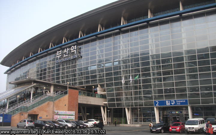 Korea, Busan Station